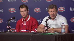 Bergevin says it's young player for another young player in Drouin deal